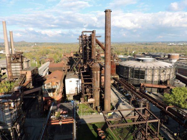 Industriegelände von oben, Ostrava Sehenswürdigkeiten-No Mainstream!