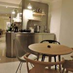 Gastraum eines stylishen Restaurants