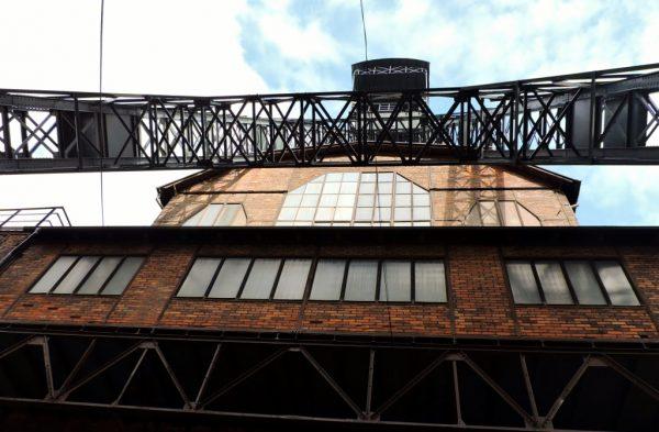 Industrie-Bauwerk, Ostrava_Tschechien