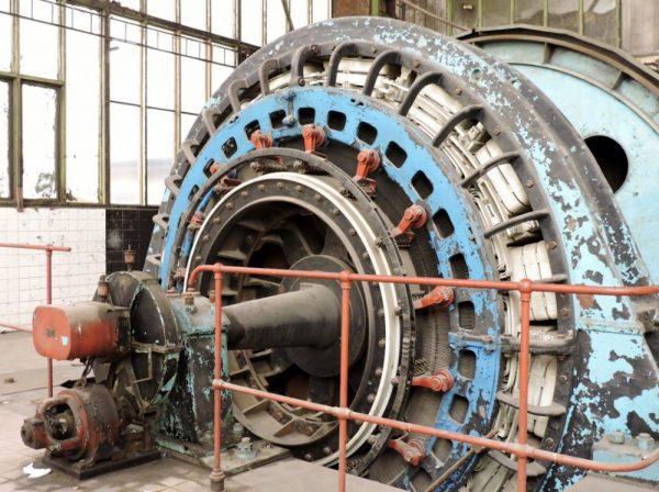 Turbine, Industriekultur-Denkmäler
