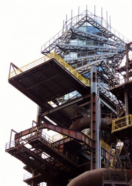 Bolt Tower in Ostrava_Industrie-Denkmäler
