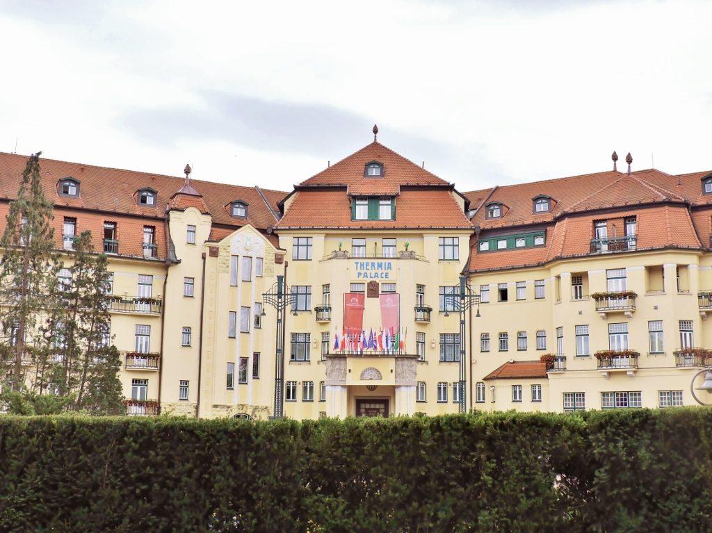 das Heilbad Piestany mit Jugendstil Grand Hotel