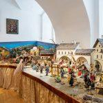 Im Weihnachtskrippe aus dem Stille Nacht-Land Salzburg