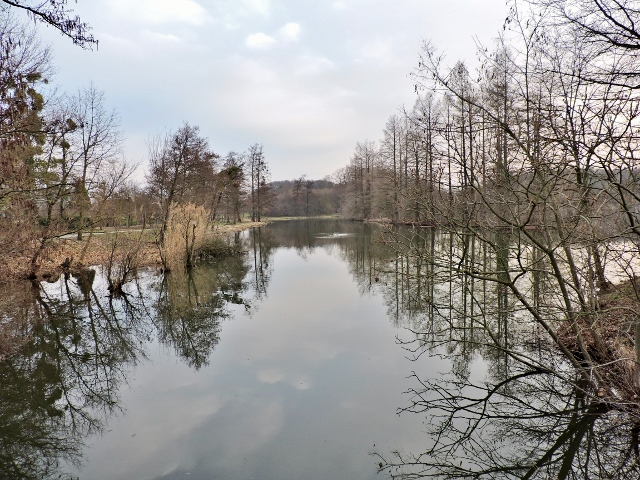 im Zauber der Teich Landschaften