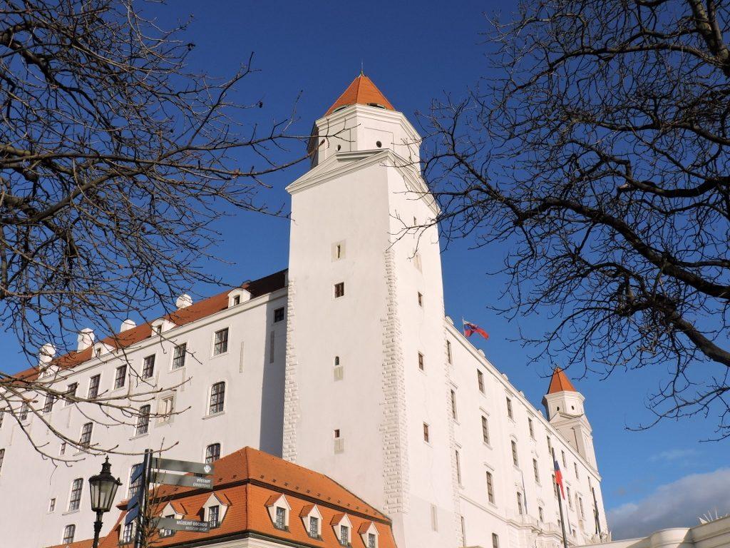 Burg Bratislava mit Turm