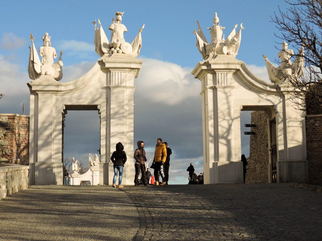 Aufgang zur Burg Bratislava