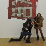 Artists, in einer Ausstellung