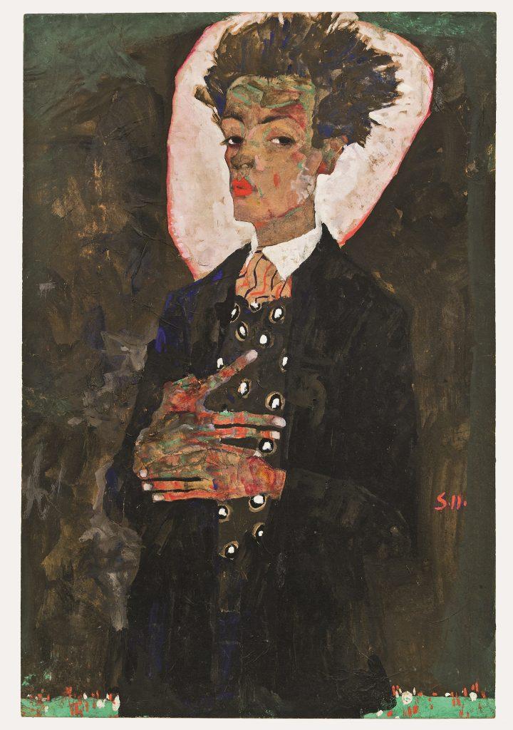 Selbstportrait Egon Schiele Ausstellung
