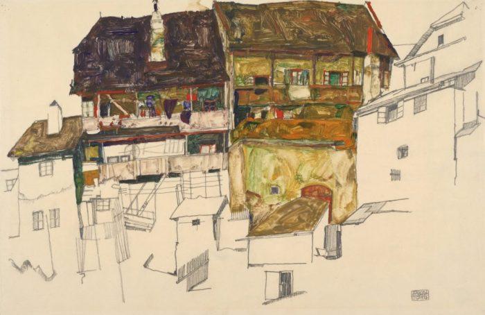 Egon Schiele Ausstellung in der Albertina Wien