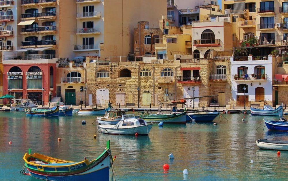 Vegan in Malta, Hafenansicht