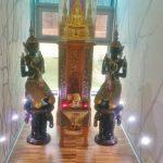 Asiatische Tempfelfiguren