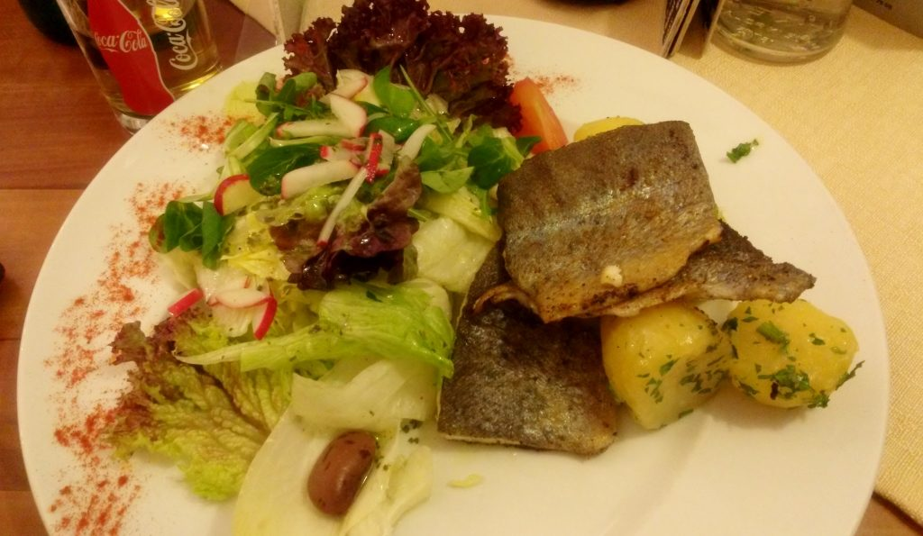 Fisch Essen in Kremsmünster