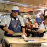 Fisch Metzger am Fischmarkt