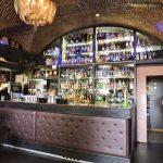 Theke einer Bar