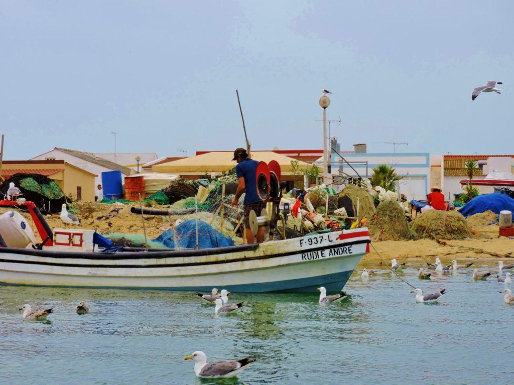 Fischerboote auf den Formosa Inseln