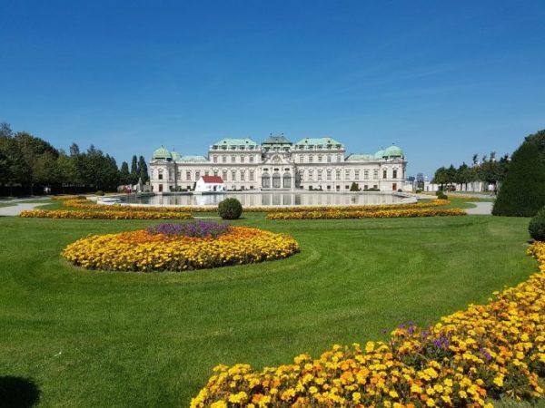Das Belvedere Schloss