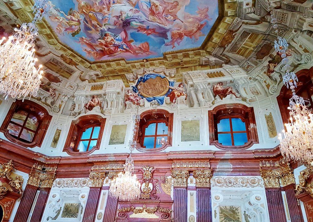 Das Belvedere Schloss und seine Kunstschätze