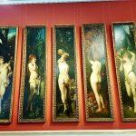 Tafelbild mit Frauenbildnis