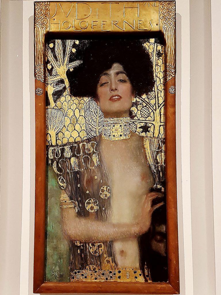 """""""Judith"""" von Klimt im Belvedere Schloss"""