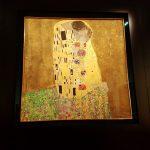 """Klimt Gemälde """"Der Kuss"""""""