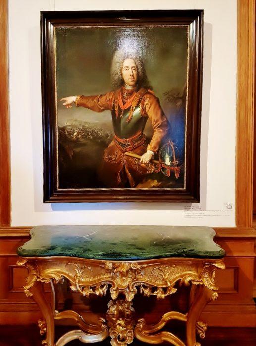 historische Portrait Prinz Eugen