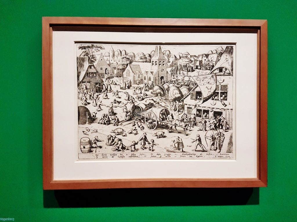 Ausstellung Bruegel und Raffael in Albertina Wien