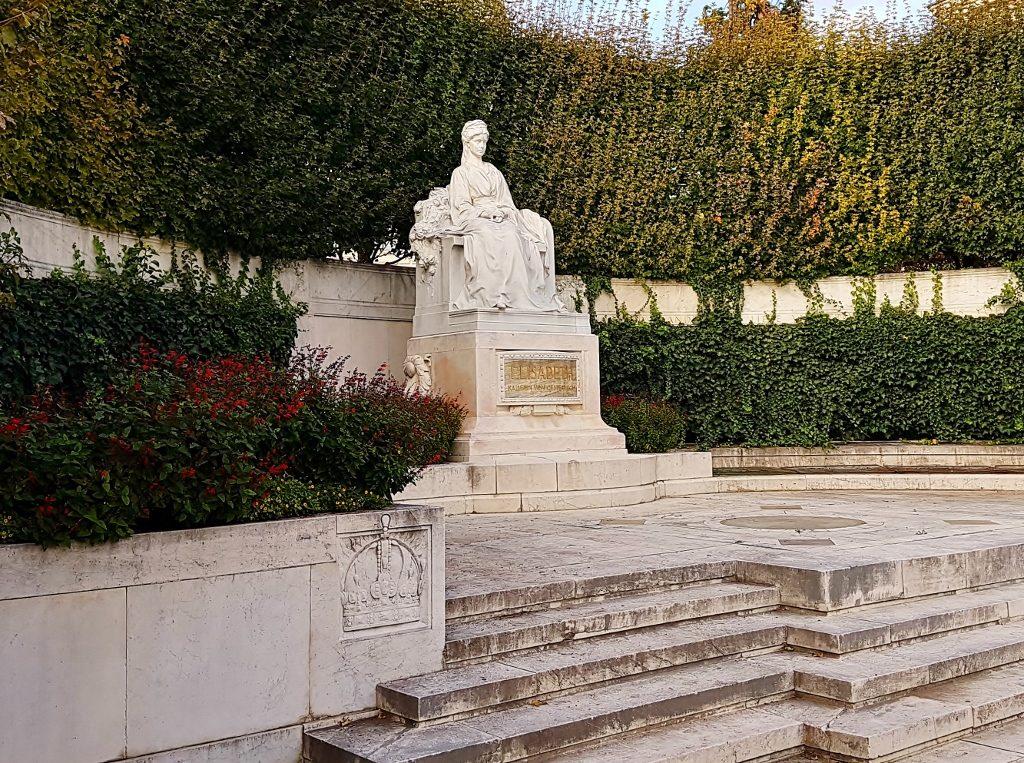 Kaiserin Sisi als steinernes Denkmal