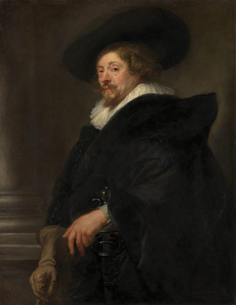 Portrait aus der Rubens Ausstellung in Wien