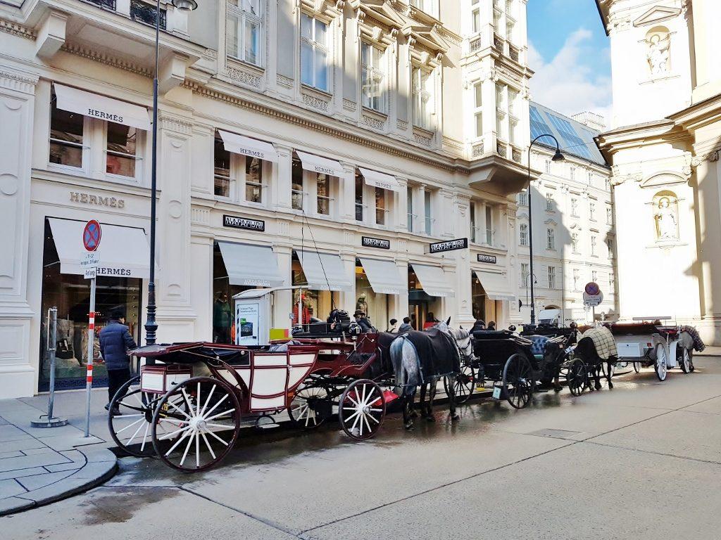 Fiaker Standplatz in Wien!