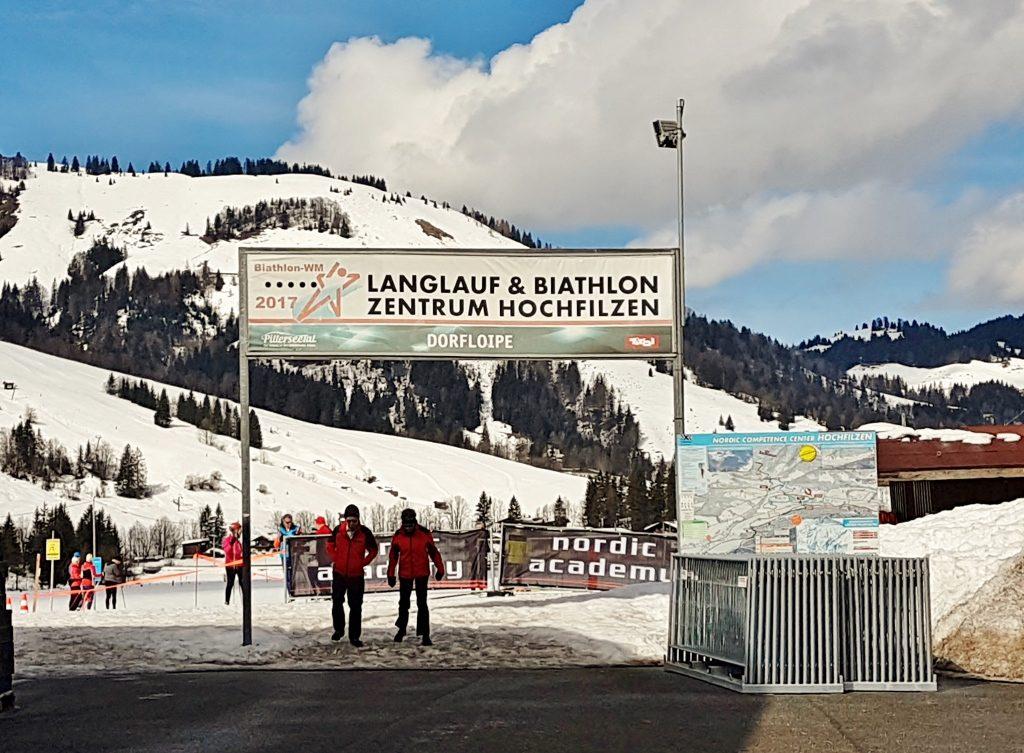 Langlauf und Biathlon Zentrum Hochfilzen