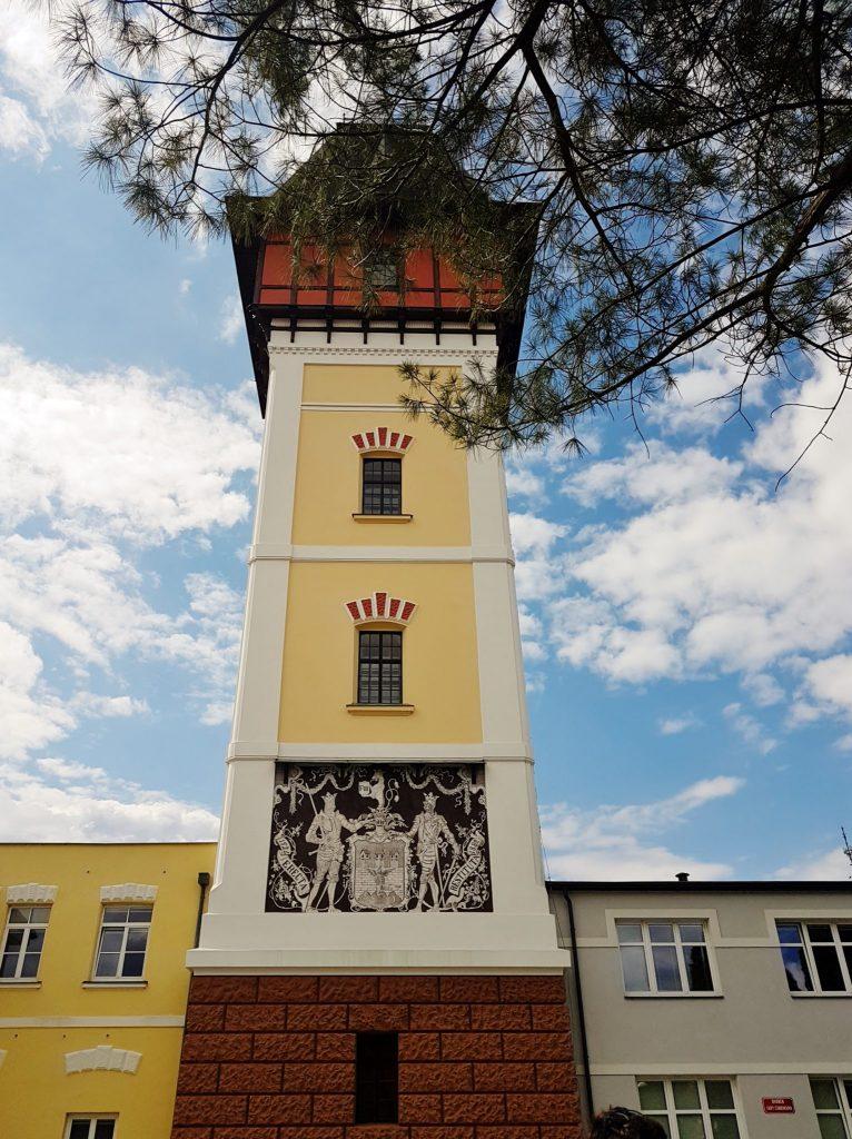 Turm in Südböhmen entlang der Moldau