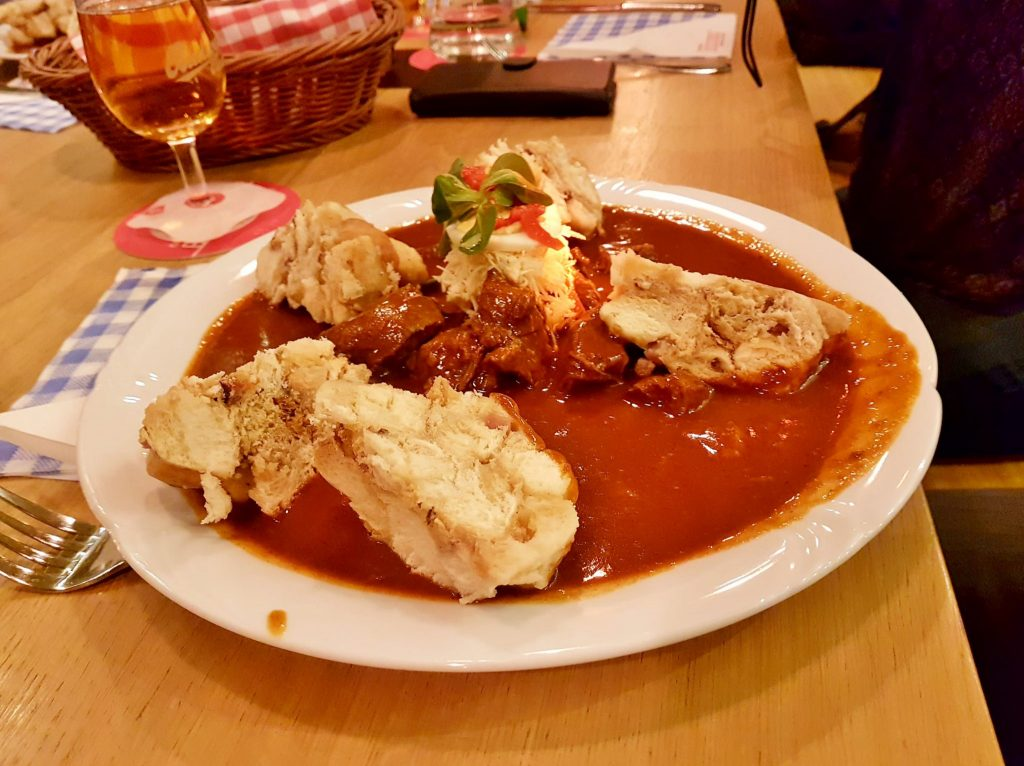 Gericht aus Südböhmen Moldau