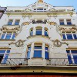 prächtige Fassade in Prag