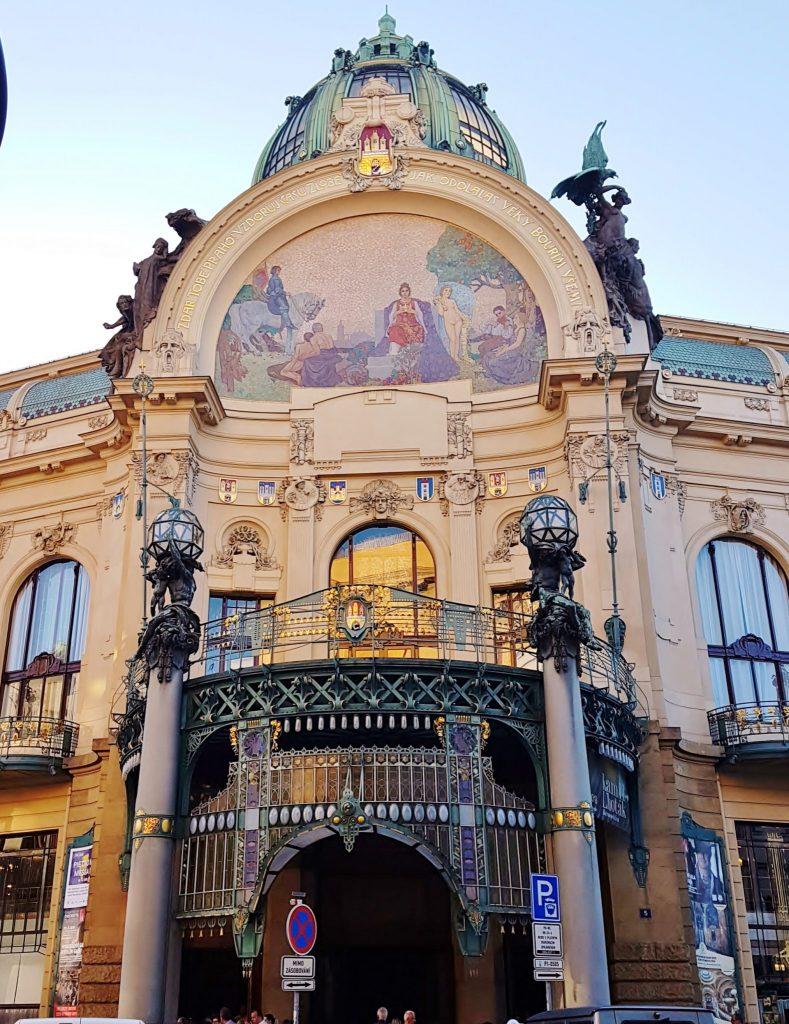Prag Architektur, Jugendstil Palais
