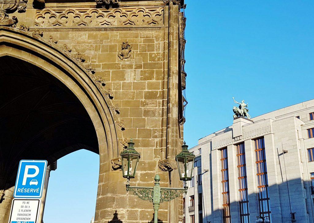 Sehenswürdigkeitden der Prag Architektur