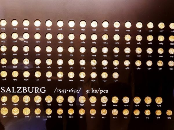 Goldmünzen Kulturhauptstadt Košice