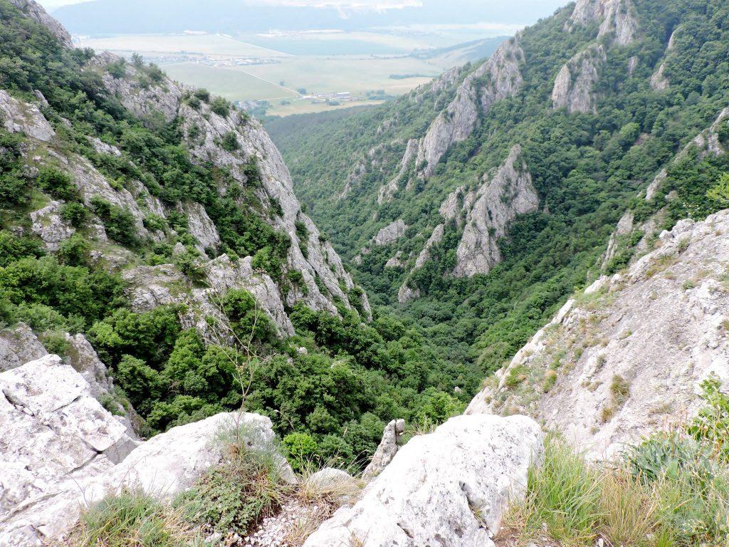 Hügellandschaft in Umgebung der Kulturhauptstadt Kosice