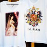 T-Shirts mit Kaiserin Sisi Aufdruck
