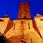 Burg mit Turm