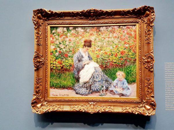 impressionistisches Bild Monet Ausstellung - Welt im Fluss