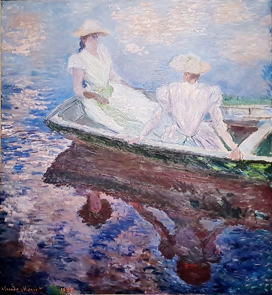 Gemälde aus der Claude Monet Ausstellung, Albertina