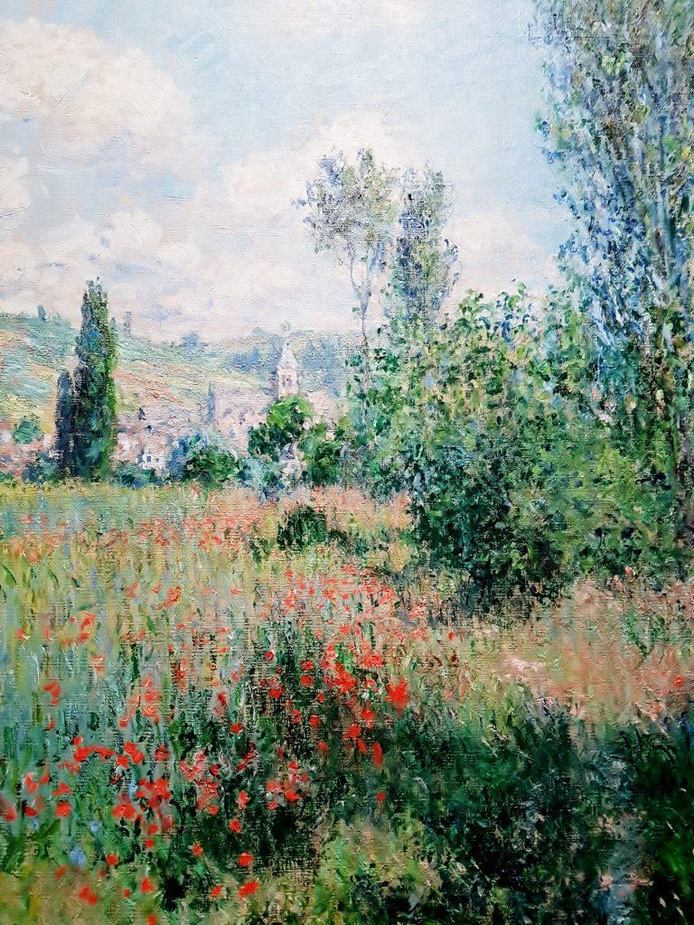 Bild aus der Claude Monet Ausstellung in Wien
