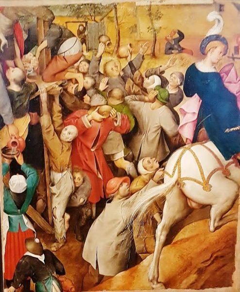 Gemälde aus der P. Bruegel Ausstellung Wien