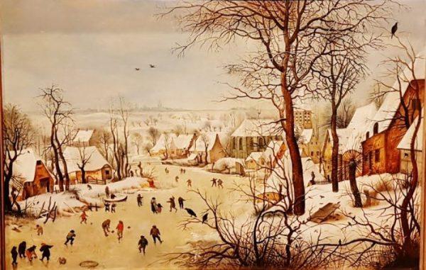 Bild aus der Bruegel Ausstellung