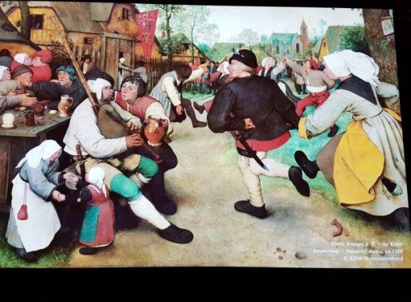 Poster mit Gemälde