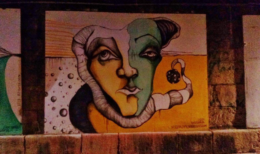 Graffiti Street Art Wien Donaukanal