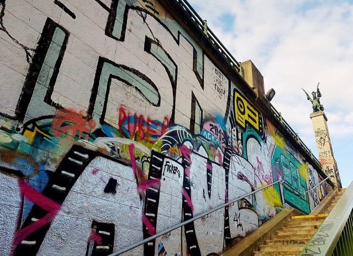 """""""Street Art Wien Donaukanal"""