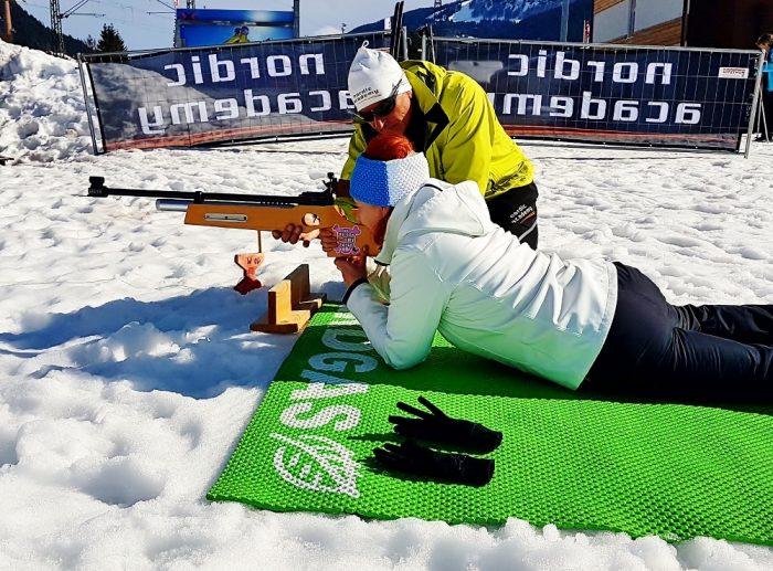 Gäste Biathlon im Pillerseetal
