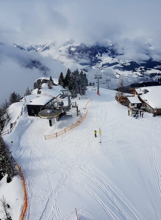 Pillerseetal-Winter auf der Buchensteinwand