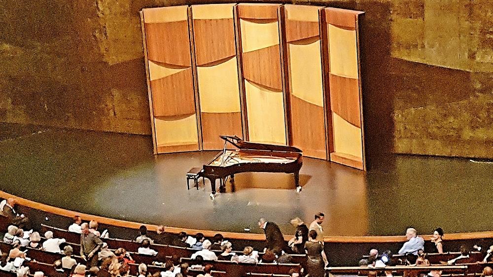 Piano Konzert in Konzertsaal